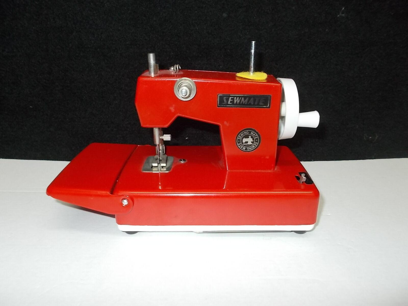Infantil - Máquina de Coser ,Rojo, Manual y Batería Operado,  K-13-4