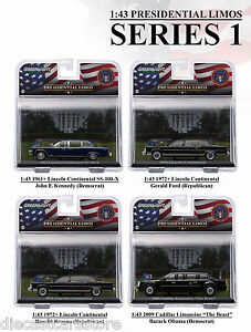 Image Is Loading PRESIDENTIAL LIMOUSINE SERIES 1 4PC SET 1 43  Nice Ideas