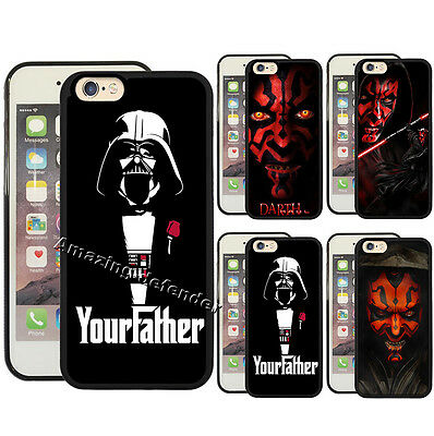 Star Wars Darth Vader Darth Maul Phone Case for Iphone 5/6/7/8 Plus&S8/7 Note 8