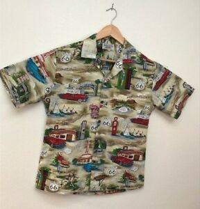 ea6977ce8 Pacific Legend Mens Medium Route 66 The Main Street of America Shirt ...