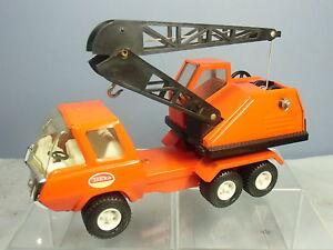 Camion à grue mobile Vintage Modèle No.xxx de Tonka Toys