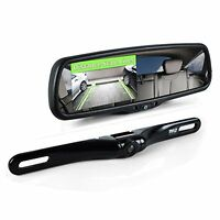 Rearview Mirror Backup Camera, Car Back Up Camera With Monitor System Kit, 4....