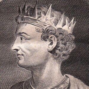 Portrait-XVIIIe-Faramond-Pharamond-Roi-Mythique-Des-Francs-Faramondo
