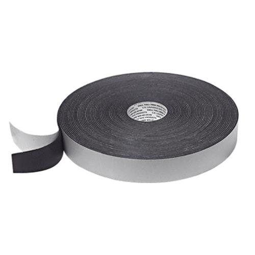 "CRL Black 1//8/"" x 1-1//2/"" Single Sided Foam Glazing Tape"