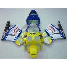 Yellow 46 ABS Plastic Fairing Bodywork Fit For Honda RVF400R RVF 400R NC35 2A