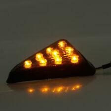 2XLED Smoke Turn Signal Indicator Blinker Light For Motorcycle Racing Bike
