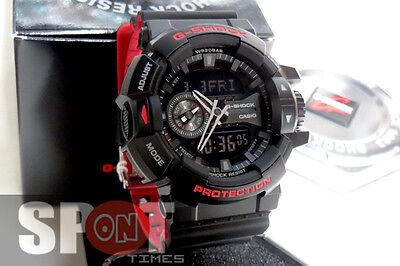 Casio G Shock Black Red Series Men S Watch Ga 400hr 1 Ebay