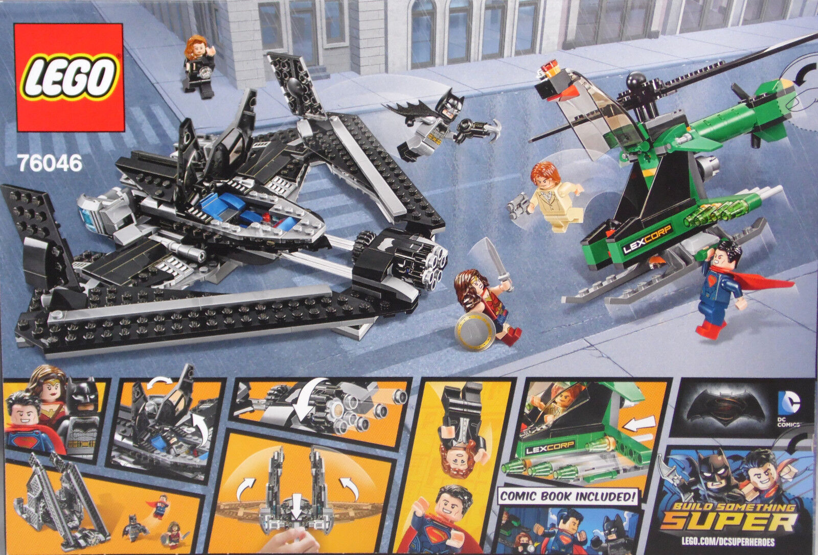 Lego DC Super Heroes 76046 Heroes of of of Justice Sky High Battle Duell in Luft NEU 836da4