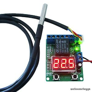 8 functions voltmeter timer voltage relay temperature controller image is loading 8 functions voltmeter timer voltage relay temperature controller sciox Images