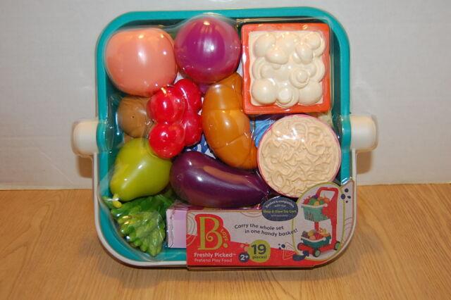 B Toys Pretend Play Food Basket By Battat For Sale Online Ebay