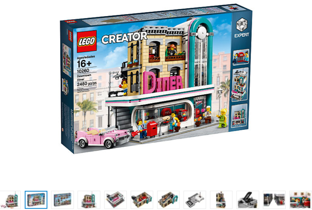 LEGO Creator Expert  10260 Downtown Diner MODULAR nuovo  nuovo stile