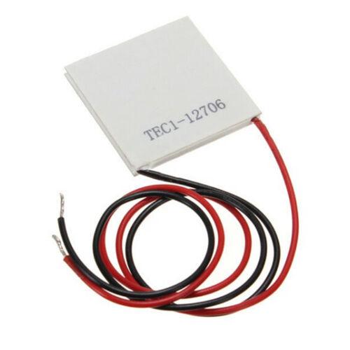 1PCS TEC1-12706 Heatsink Thermoelectric Cooler Cooling Peltier Plate ModuleBIJS