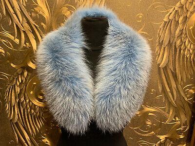 Fuchskragen Babyblau Pelz Kragen Stola Fellkragen Kragen Fox Collar Pelz Fuchs Dauerhaft Im Einsatz