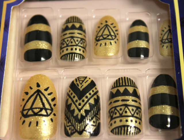 KISS GOLDFINGER GLUE-ON FASHION POSH NAIL KIT 24-COUNT (CHOOSE FROM 22 MODELS)