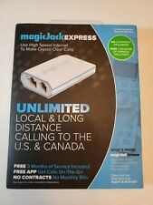 MAGICJACK EXPRESS-FREE 3 MONTHS SERVICE-FREE APP-NO CONTRACT-VER 13-SHIPS FREE!
