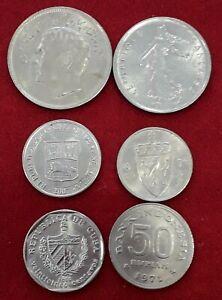 monedas-del-mundo-varios-paises