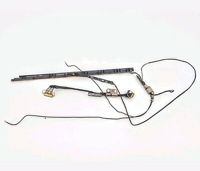 """11/"""" MacBook Air A1370 2010 Left Hinge w// WiFi Antenna iSight Cables"""