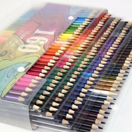 48//136//160 Colors Metallic Non-toxic Drawing Pencils Drawing Finest Sketching