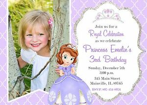 Sofia The First Princess Birthday
