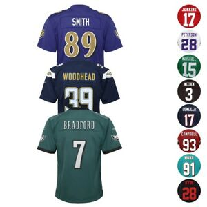 de141630db93e Nike Official NFL Home Away Alt Team Player Game Jersey Collection ...