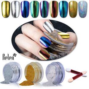Belen-Nail-Metallic-Mirror-Effect-Chameleon-Chrome-Powder-Sponge-Stick-UV-Salon