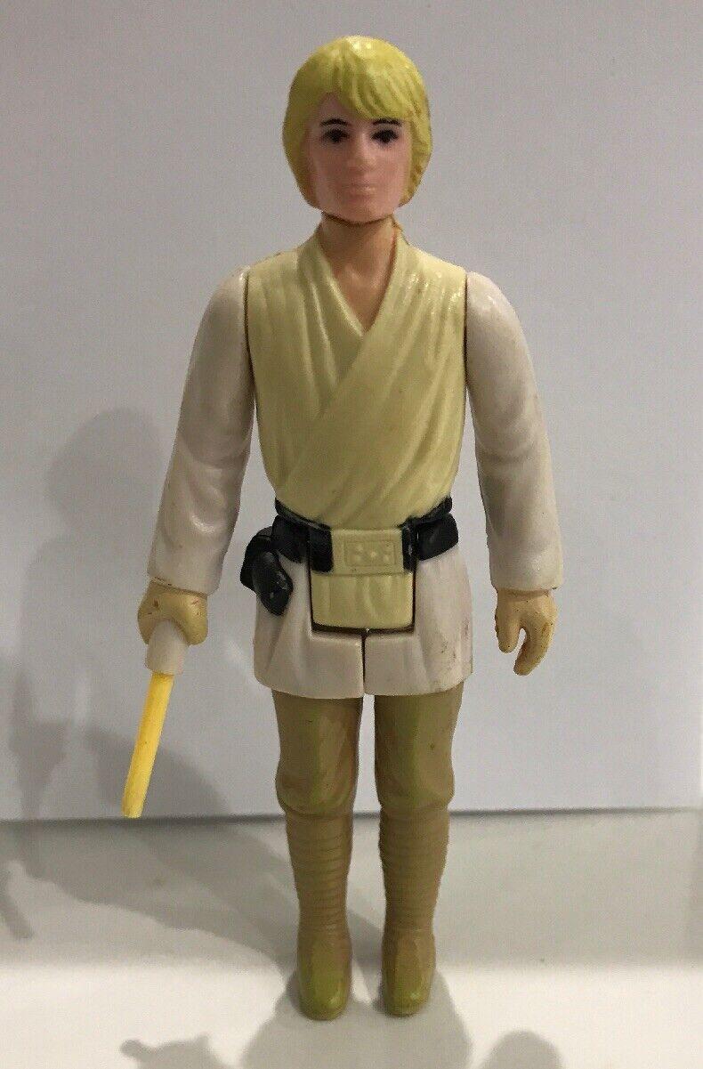 1977 Star Wars - Vintage Luke Skywalker With Lightsaber - Good Condition