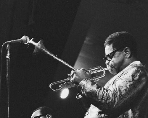 Dizzy Gillespie Vintage Jazz Photography the Monterey Jazz festival