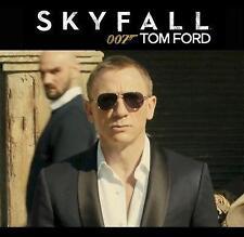 JAMES BOND SKYFALL Tom Ford MARKO TF 144 14D Gunmetal Polarized Sunglasses