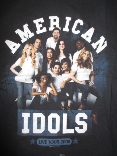 2008 AMERICAN IDOLS (SM) T-Shirt DAVID ARCHULETA DAVID COOK