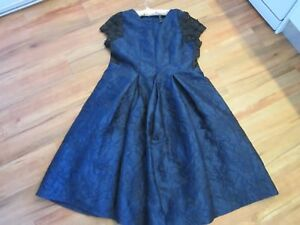 GORGEOUS-EVENING-OCCASION-DRESS-NAVY-BLUE-SIZE-22-BY-T-S-NWT-RRP-299-95