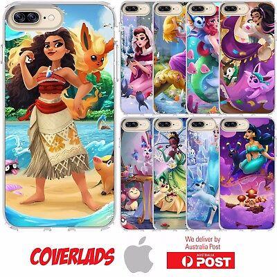 Disney Princess Pokemon Ariel Vaporeon Magikarp iphone case