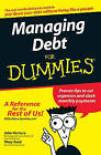 Managing Debt for Dummies by John Ventura, Mary Reed (Paperback, 2007)