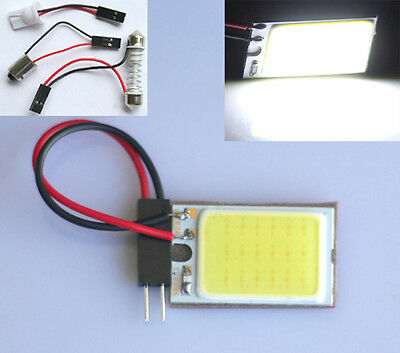 10x Auto 18 LED SMD COB Chip T10 W5W Festoon Soffitte Innenraumbeleuchtung Panel