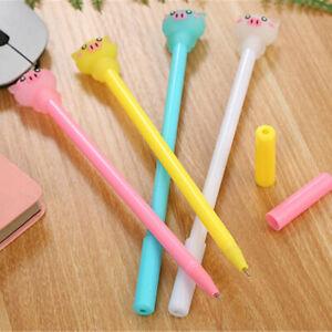 6pcs-Cute-Cartoon-Kawaii-Pig-Gel-Ink-Roller-Ball-Point-Pen-School-Kids