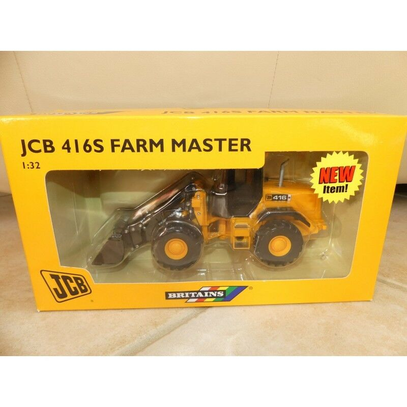 TRACTEUR JCB 416S FARM MASTER BRITAINS 42018 1 32