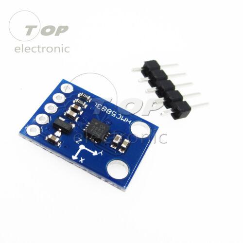Triple Axis HMC5883L GY-271 GY-273 Compass Magnetomet Sensor 3V-5V For Arduino