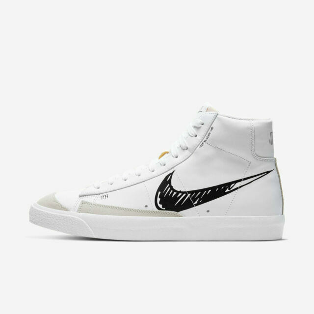 Size 9 - Nike Blazer Mid 77 Sketch - Black for sale online   eBay