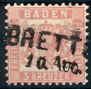 Baden-Lot-fuer-Stempelsammler-Mi-Nr-18o-BRETTEN-pracht-18o-177-fein