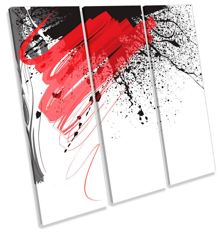 Diseño De Foto Tinta Abstracto agudos LONA pared arte Foto De impresión Cuadrado b70acc