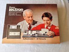 Lectron - Aufbaukasten 1 - 30 Versuche - Sammlerstück - OVP*neuwertiger Zustand*