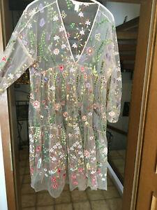 """Details zu Damen Kleid """"H&M"""",Weise Edition,Gr.M/L,Gebraucht"""