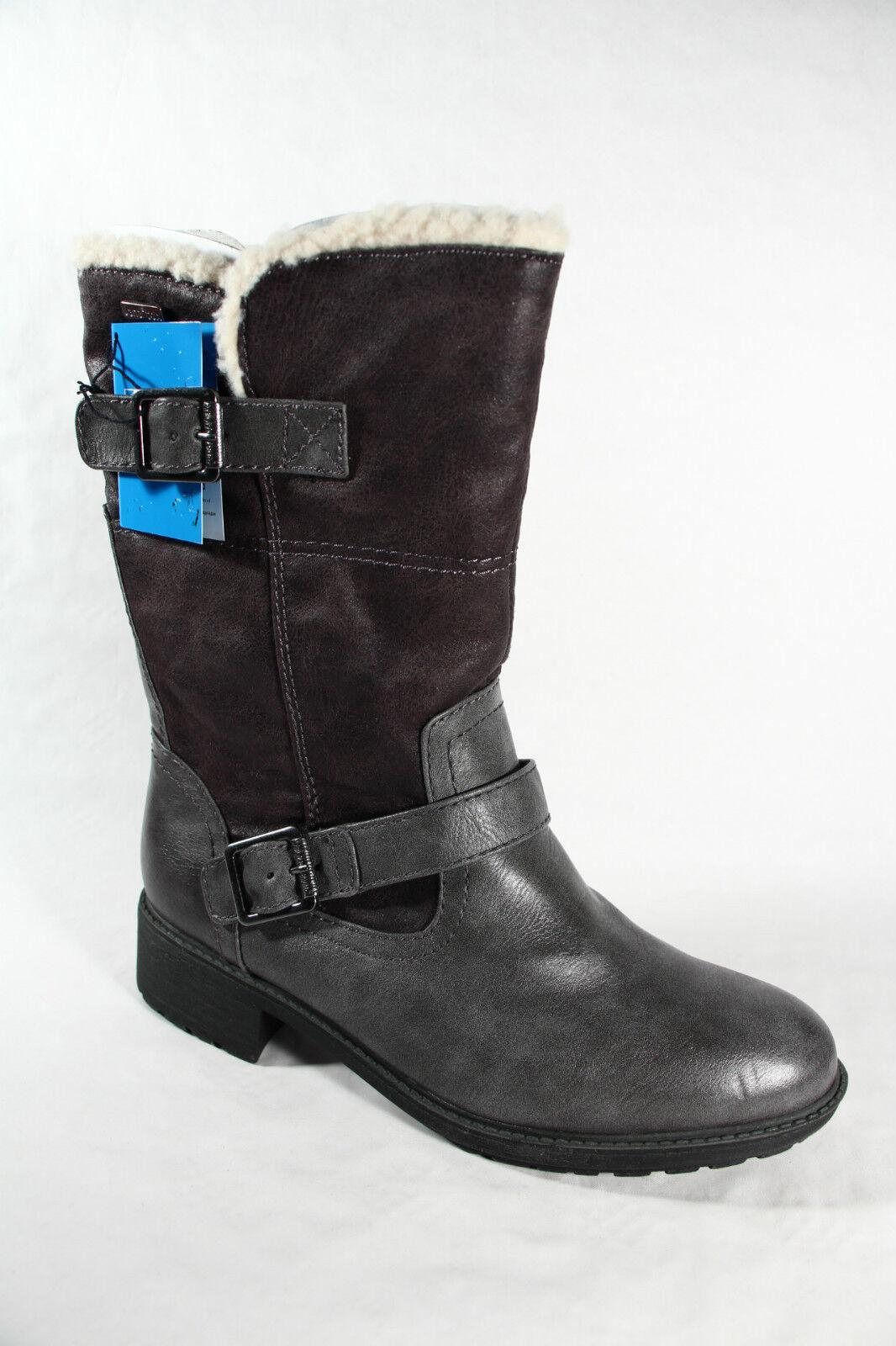 Jana Tex Stiefel, Winterstiefel, Stiefel NEU grau, Warmfutter; Profilsohle RV26441 NEU Stiefel f90d19
