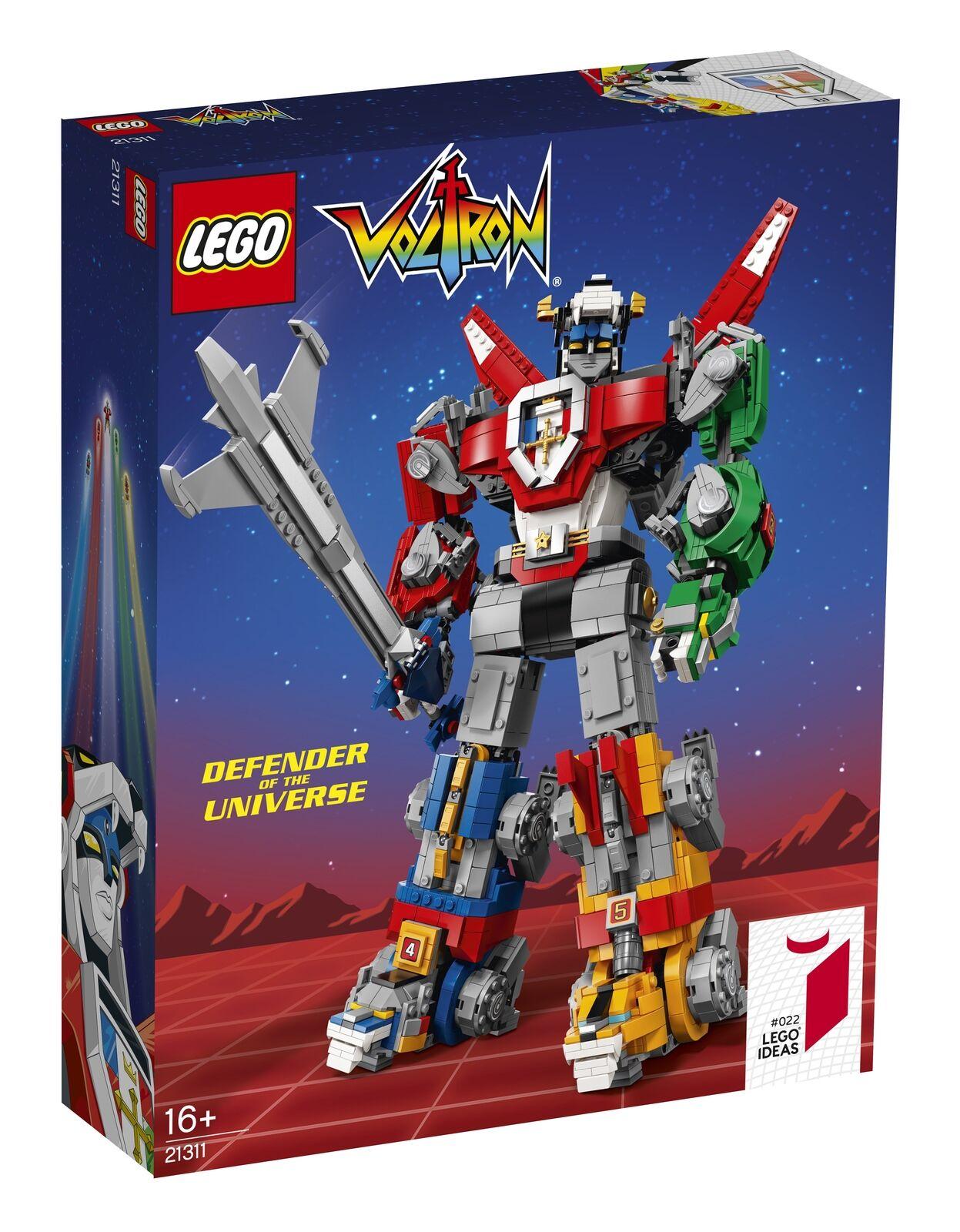 Lego Ideas Voltron (21311) - NEU, OVP & VERSIEGELT