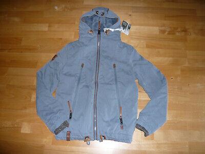 NAKETANO ~ Herren Winter Jacke *Dildo Junkie* Gr. S, blaugrau, NEU! | eBay