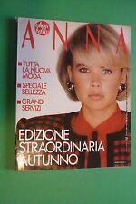 ANNA 41 1984 MODA VALENTINO KATE CAPSHAW BEN GAZZARA JANE BIRKIN JULIO IGLESIAS