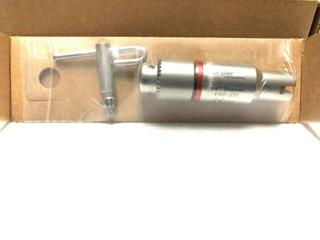 "Stryker 4103-231 Brand NEW 1/4"" (6.35mm) Reamer with Key"