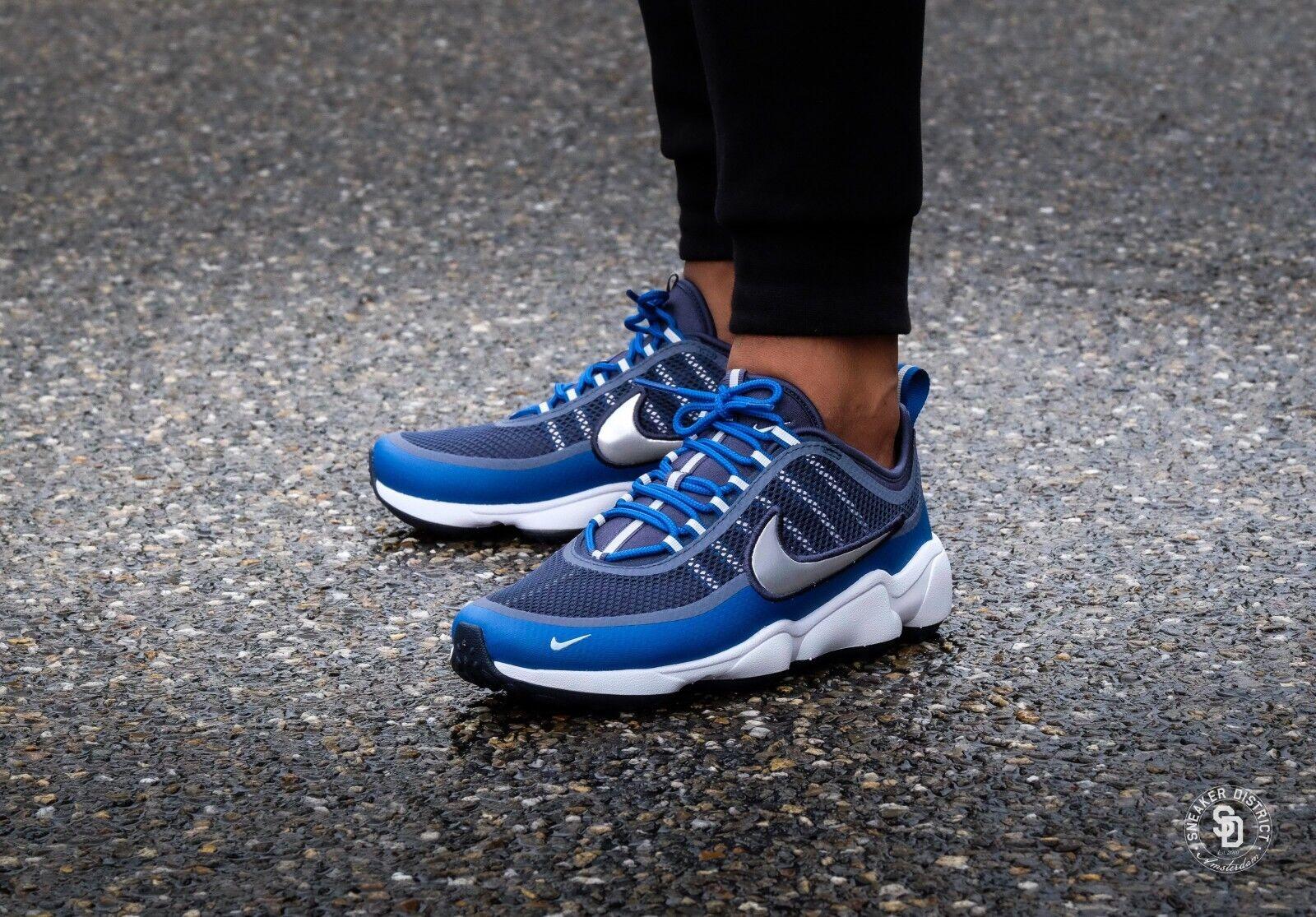 Hombre Nike Zoom Spiridon Arsenal Azul 876267401 Metálico Platino Tamaños 711 876267401 Azul c32e80