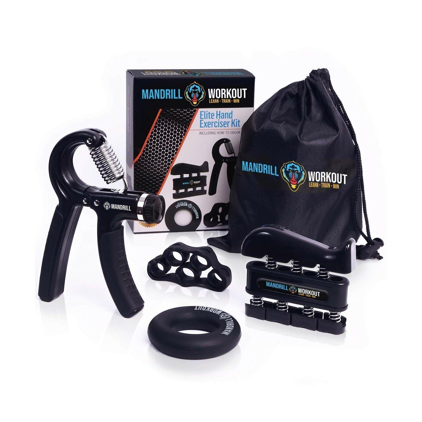 5 Pack Finger Stretcher, - Finger Exerciser Hand Grip Strengthener Workout