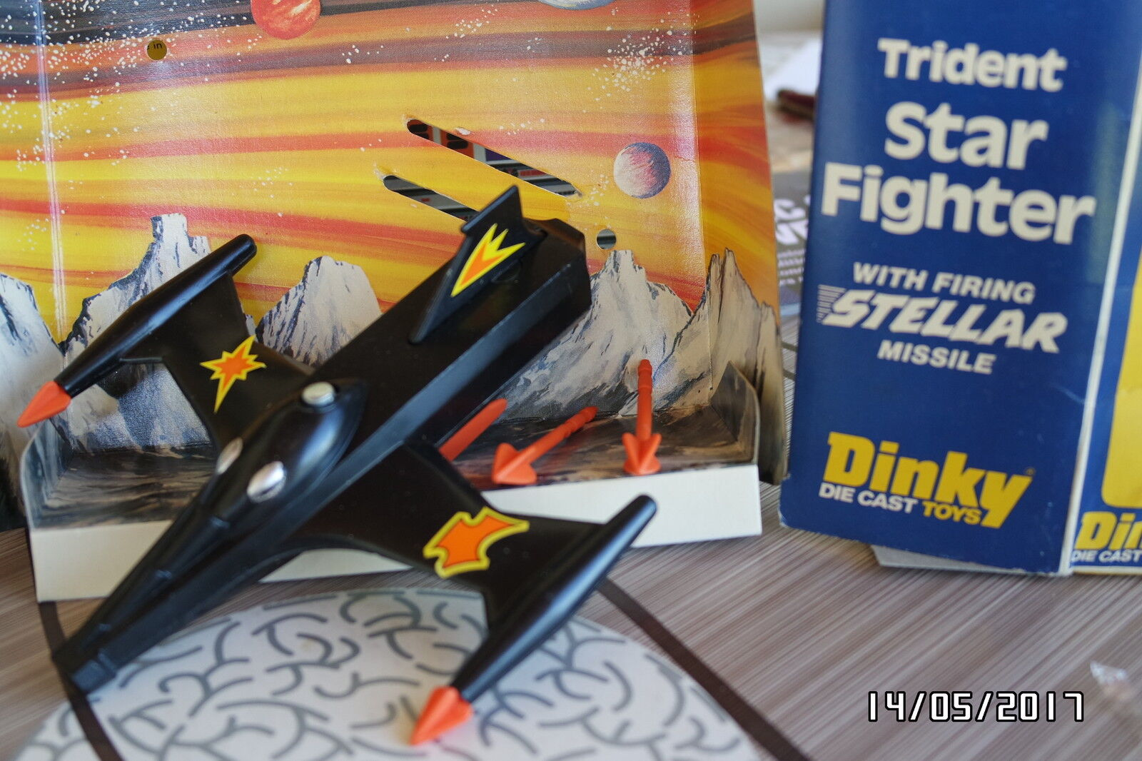Dinky toys gb 362 trident star fighter nb