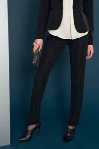 Edas-pantalone-elegante-donna-Turbo-pantaloni-VERD-vita-alta-taglie-forti-comode